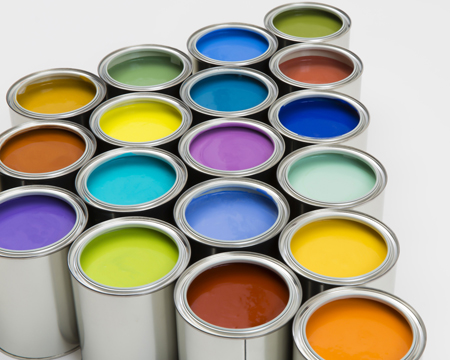 Natural and organic paint for natural and organic plaster